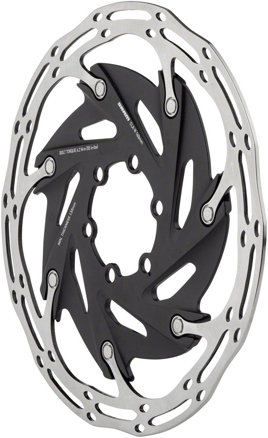 SRAM Centerline XR 2-Piece 160mm Rounded Rotor, 6-Bolt - Disc Rotor - Centerline XR 2-Piece 6-Bolt Rotor