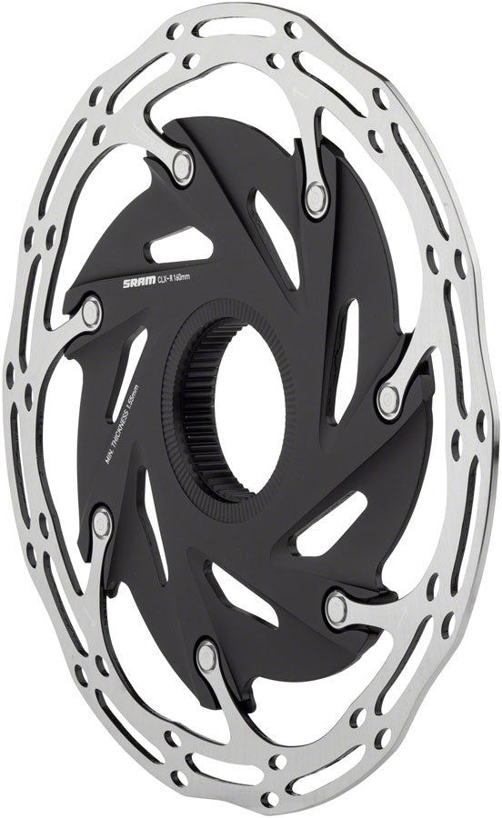 SRAM Centerline XR 2-Piece 140mm Rounded Rotor, Centerlock - Disc Rotor - Centerline XR 2-Piece CenterLock Rotor