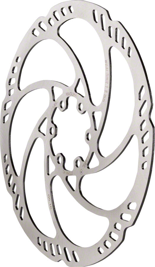 Magura Storm HC Disc Brake Rotor - 180mm, 6-Bolt, Silver