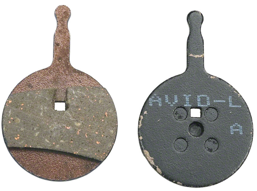 Avid Disc Brake Pads - Organic Compound, Steel Backed, Quiet, For BB5