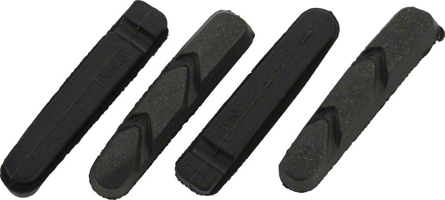 TRP High Performance Road and Cyclocross Set of 4 Brake Pads, Black