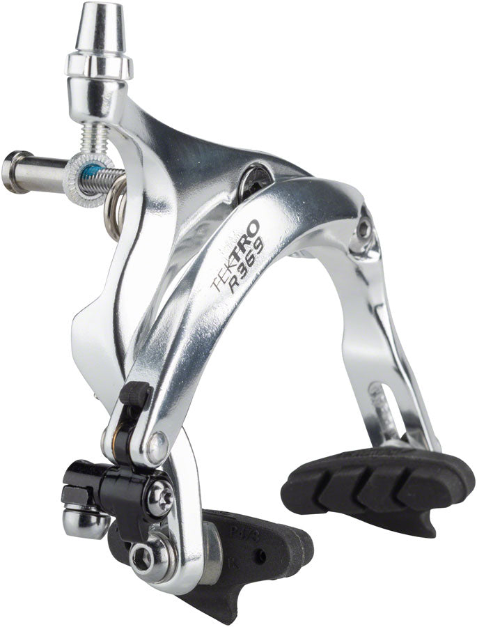 Tektro R369 Road Caliper Front Brake: 55-73mm Silver