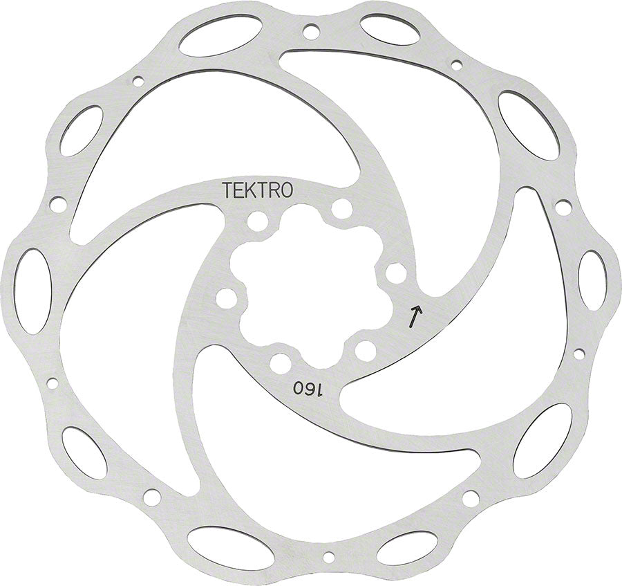 Tektro Lyra 160mm Lyra Cross Rotor w/Bolts