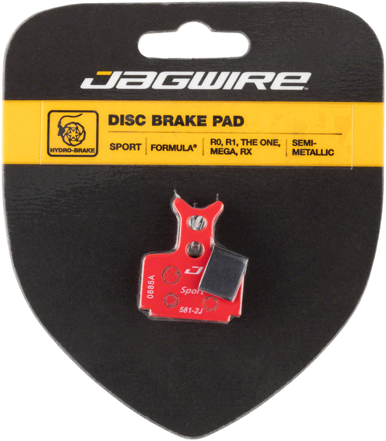 Jagwire Mountain Sport Semi-Metallic Disc Brake Pads for Formula R1R, R1, C1, CR3, RO, ROR, RX, T1, Mega, Cura
