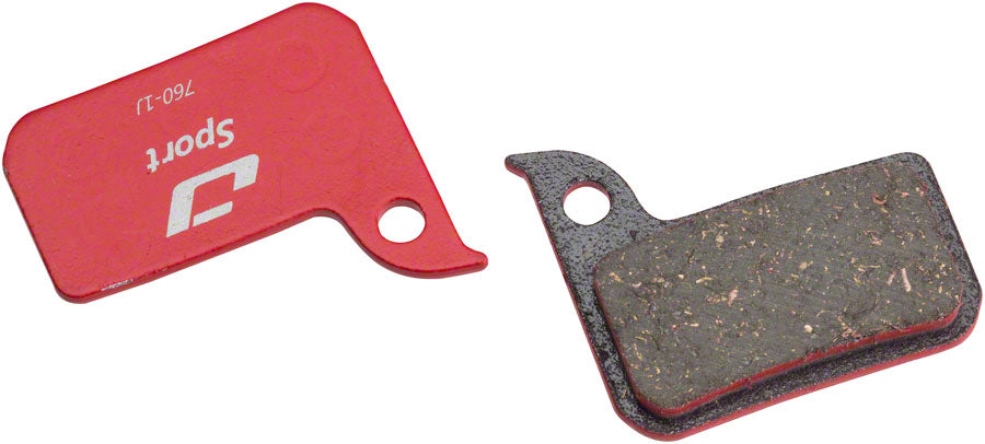 Jagwire Mountain Sport Semi-Metallic Disc Brake Pad for SRAM Road Hydraulic Red, Force, Rival, CX1, S700