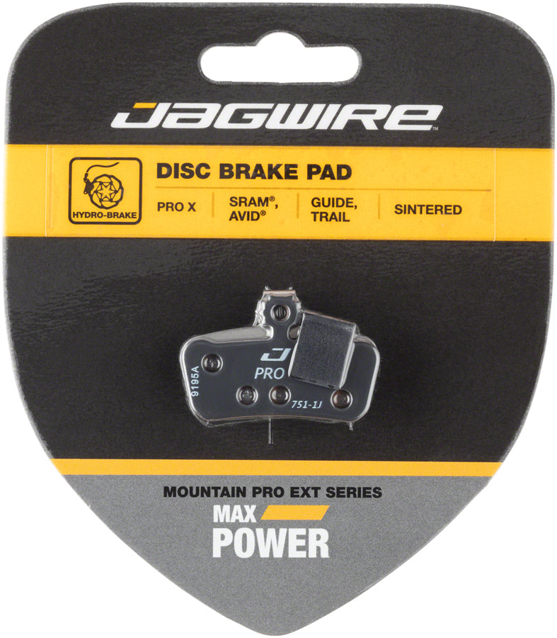 Jagwire Mountain Pro Alloy Backed Semi-Metallic Disc Pads for Avid Elixir R CR
