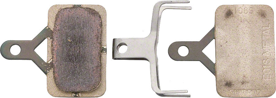 Shimano E01S Metal Disc Brake Pad and Spring for Deore M575 M486 M485 M446 M445