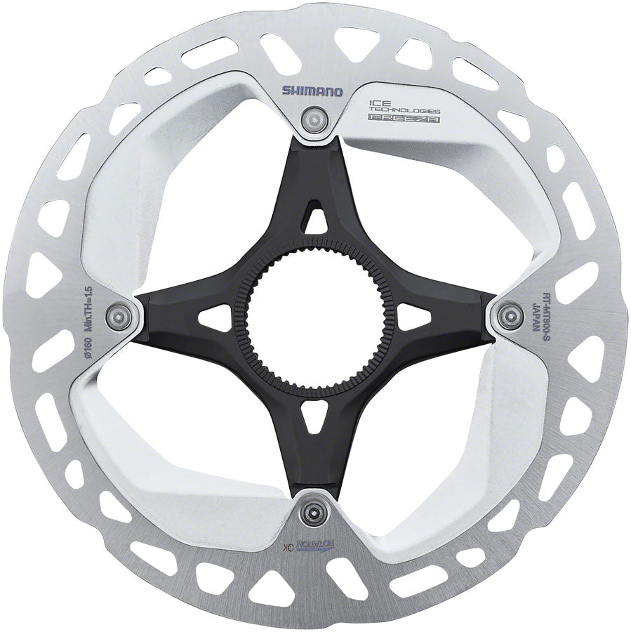 Shimano XT RT-MT800-S 160mm Centerlock Disc Rotor with External Lockring MPN: IRTMT800SE UPC: 192790442235 Disc Rotor Deore XT RT-MT800 Centerlock Disc Rotor