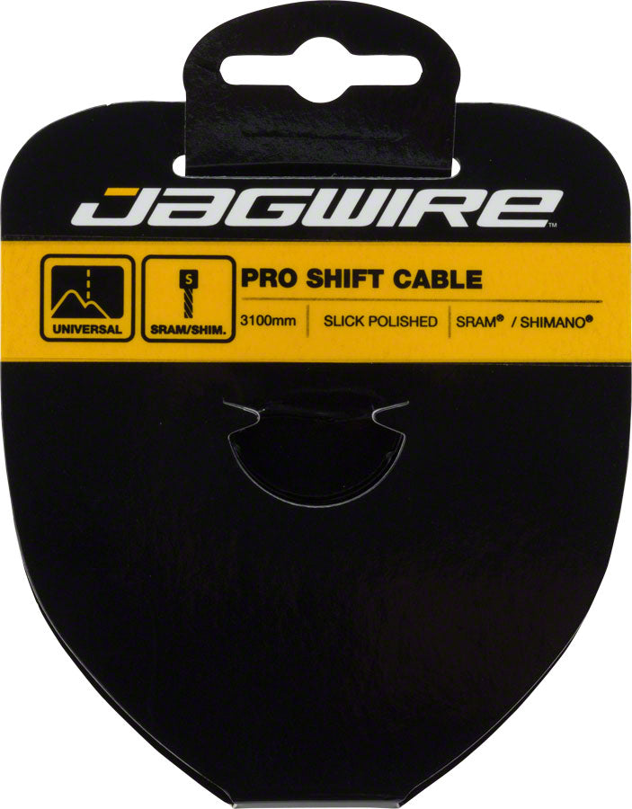 Jagwire Pro Polished Slick Stainless Derailleur Cable 1.1x3100mm SRAM/Shimano - Derailleur Cable - Pro Polished Derailleur Cable