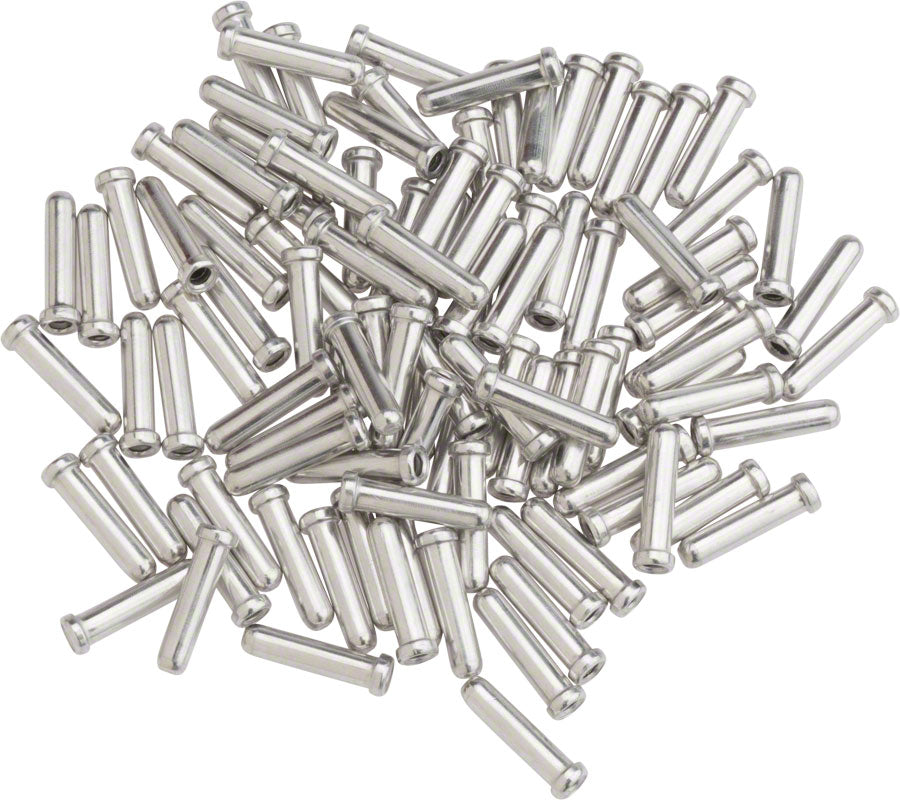 Shimano Brake Cable Tips, Box of 100 MPN: Y62098040 UPC: 689228127326 Cable End Crimp Shimano Cable End Crimps