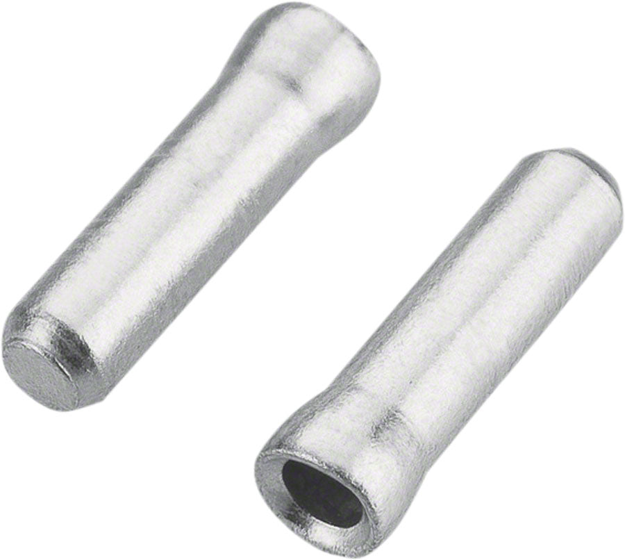 Jagwire 1.2mm Cable End Crimps Silver Bottle/500 MPN: BOT117-A Cable End Crimp Cable End Crimps