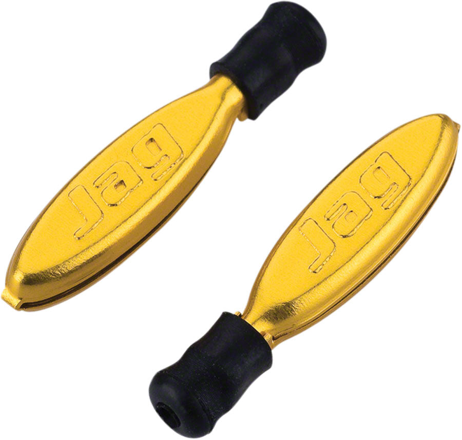 Jagwire Cable End Non-Crimp Brake/Derailleur Gold, Bag/4 MPN: CHA069 Cable End Crimp Cable End Non-Crimp