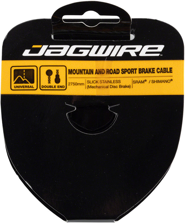 Jagwire Sport Brake Cable Slick Stainless 1.5x2750mm SRAM//Shimano Mountain//Road
