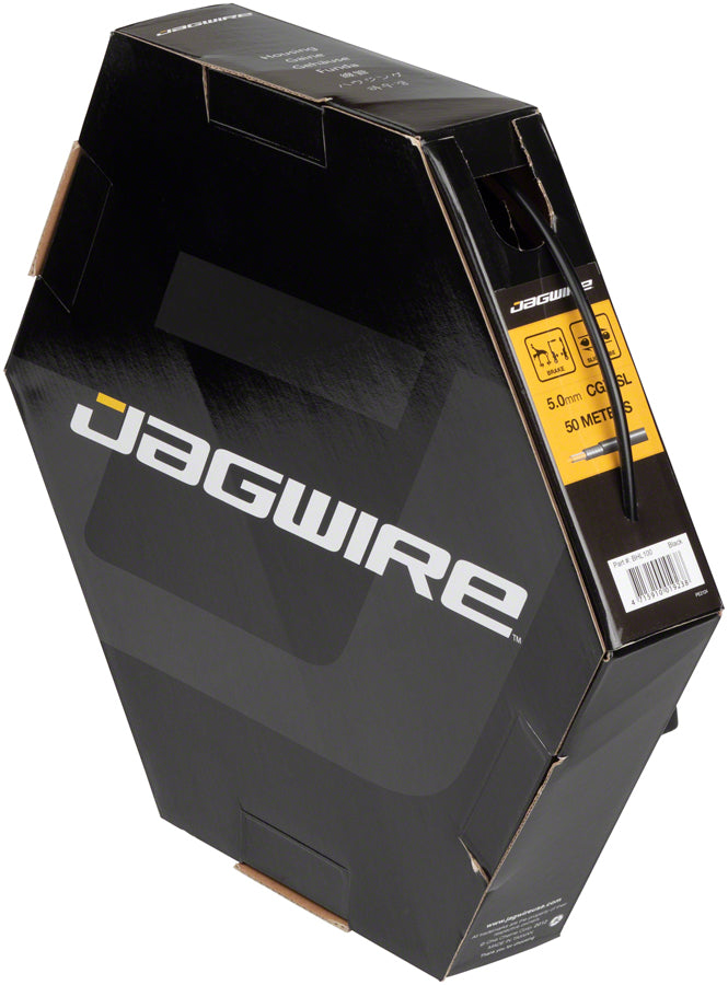 Jagwire 5mm Sport Brake Housing with Slick-Lube Liner 50M File Box, Black