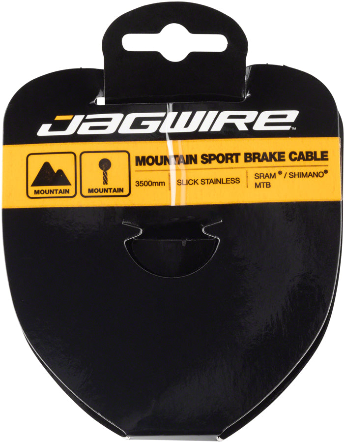 Jagwire Sport Brake Cable Slick Stainless 1.5x3500mm SRAMShimano Mountain Tandem