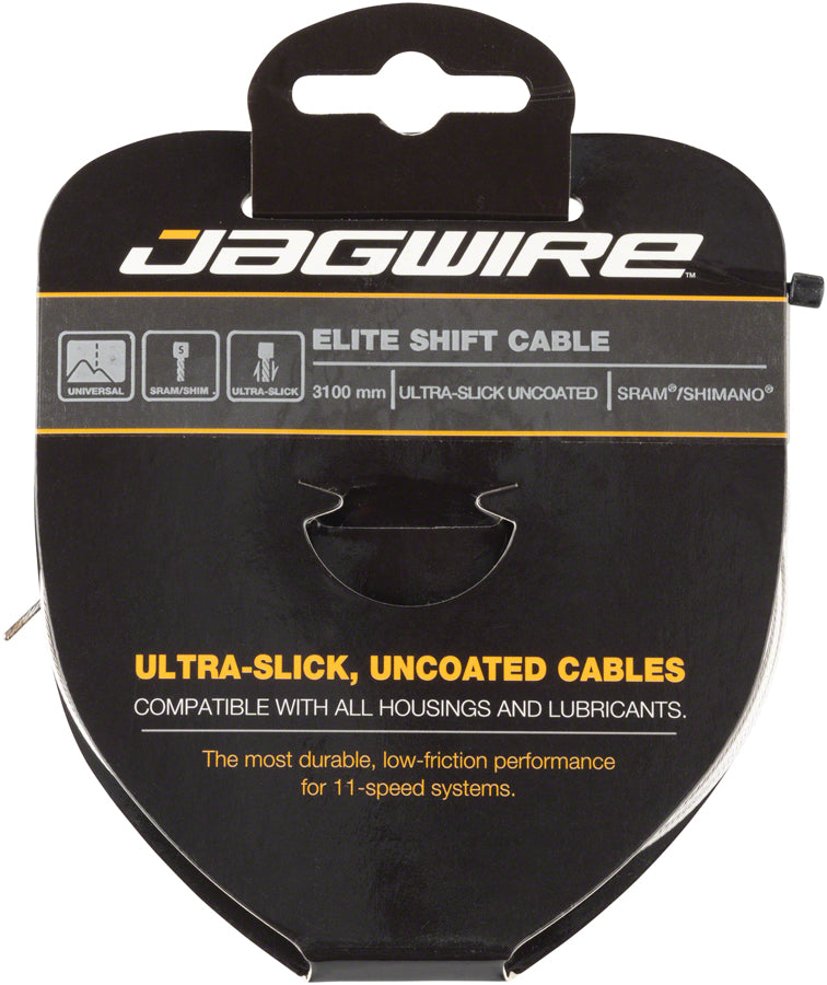 3 x Jagwire Slick Stainless 1.1 mm Shift Derailleur Cables 2300mm SRAM//Shimano