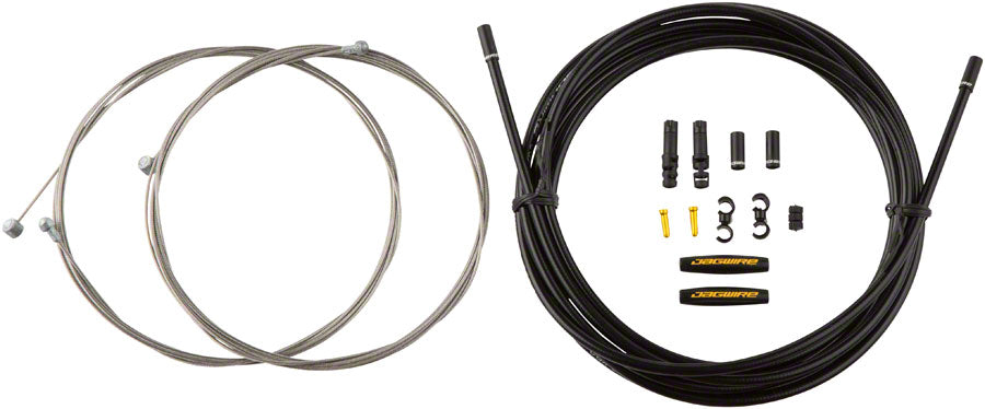 Jagwire Universal Sport Brake XL Kit, Black - Brake Cable & Housing Set - Universal Sport XL Brake Kit