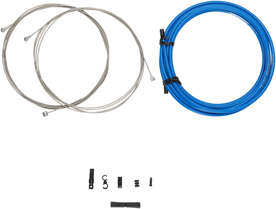 Jagwire Universal Sport Brake XL Kit, Blue - Brake Cable & Housing Set - Universal Sport XL Brake Kit