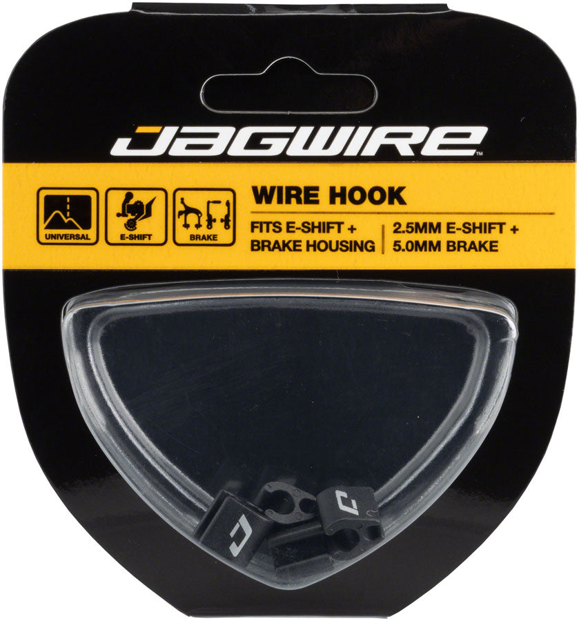 Jagwire Cable End Crimps 1.8mm-Gold//Black//Red-Bag of 30-Color pack