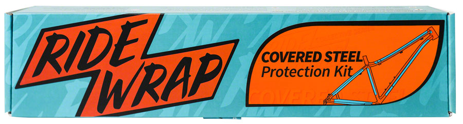 RideWrap Covered Steel MTB Frame Protection Kit - Gloss