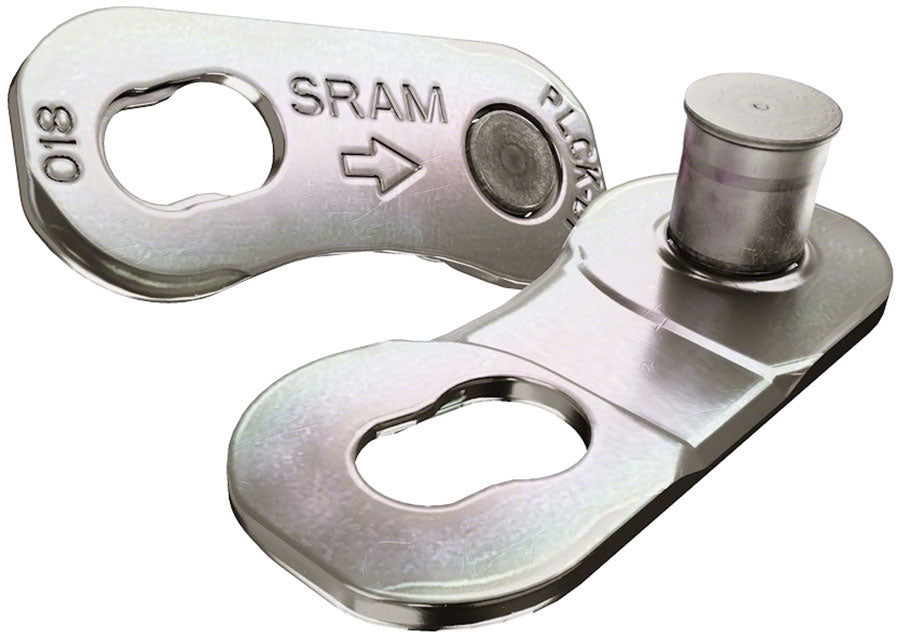 SRAM AXS PowerLock Link for 12-Speed Road Chains, Silver, Card/4