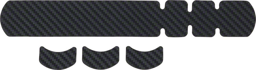 Small Lizard Skins Carbon Leather Frame Protector Black