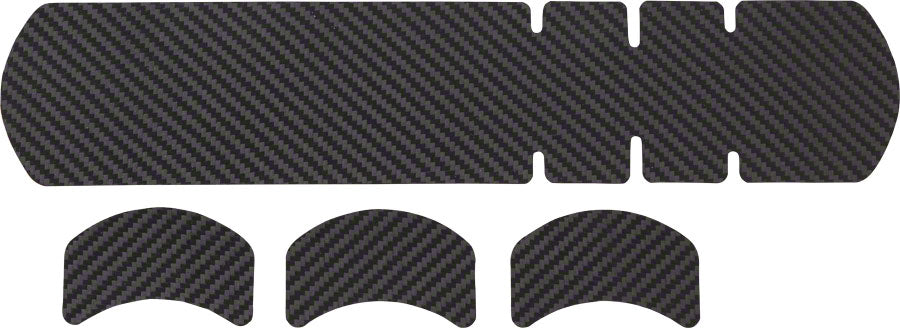Lizard Skins Adhesive Bike Protection Large Frame Protector: Carbon Leather