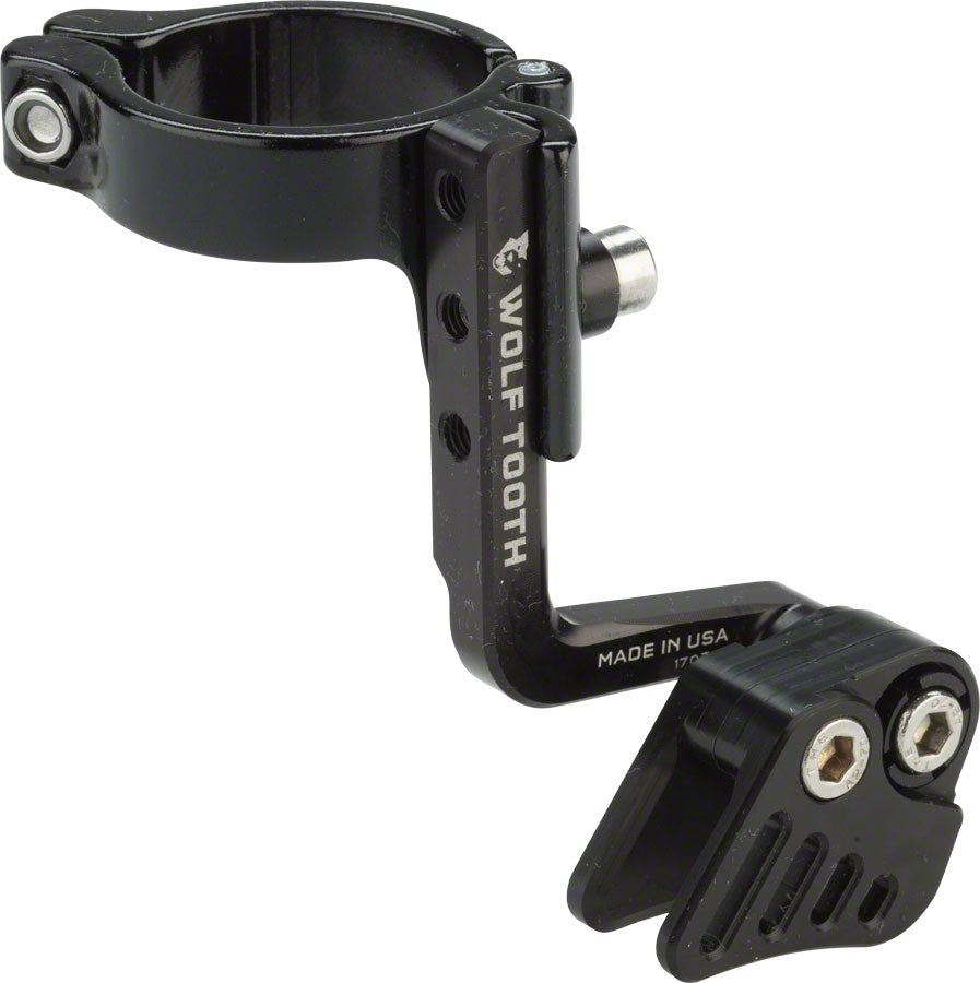 Wolf Tooth Gnarwolf Chainguide Seat Tube Clamp, 34.9mm MPN: GNARWOLF-ST-34.9 UPC: 812719026062 Chain Retention System Part Gnarwolf