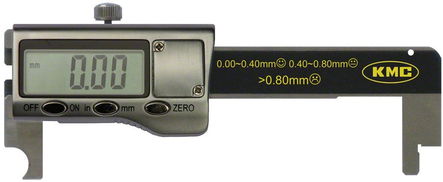 KMC Digital Chain Wear Indicator MPN: TL00011 UPC: 766759000011 Wear Indicator Digital Indicator