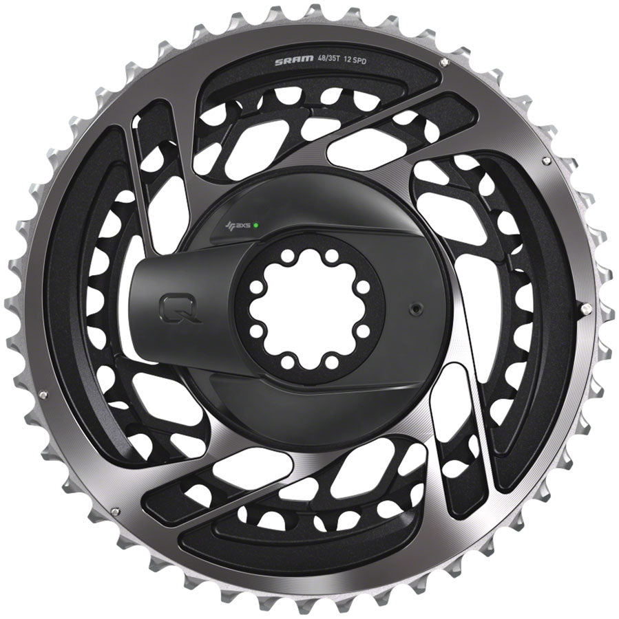 SRAM RED AXS Power Meter Kit - 48/35t, 2x12-Speed, 8-Bolt Direct-Mount, Polar Gray, D1