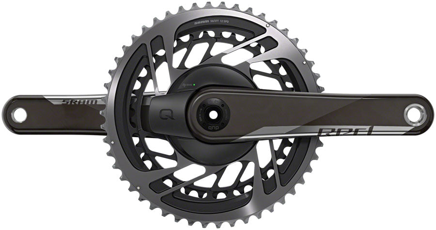 SRAM RED AXS Power Meter Crankset - 175mm, 12-Speed, 50/37t, Direct Mount, DUB Spindle Interface, Natural Carbon, D1