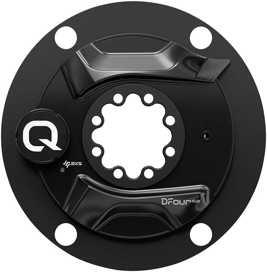 Quarq DFour AXS DUB Power Meter Spider - 110 BCD, 8-Bolt Crank Interface, Black