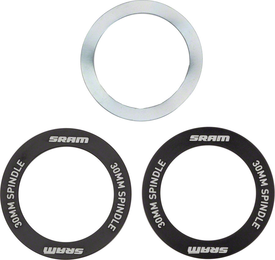 SRAM BB30 Bearing Shield and Wave Washer MPN: 11.6415.007.020 UPC: 710845689017 Small Part Shield and Wave Washer
