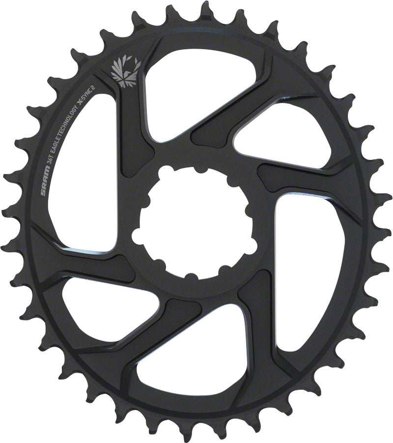 SRAM X-Sync 2 Eagle Oval Direct Mount Chainring 36T Boost 3mm Offset MPN: 11.6218.038.040 UPC: 710845804700 Direct Mount Chainrings X-Sync 2 Eagle Oval Direct Mount Chainring