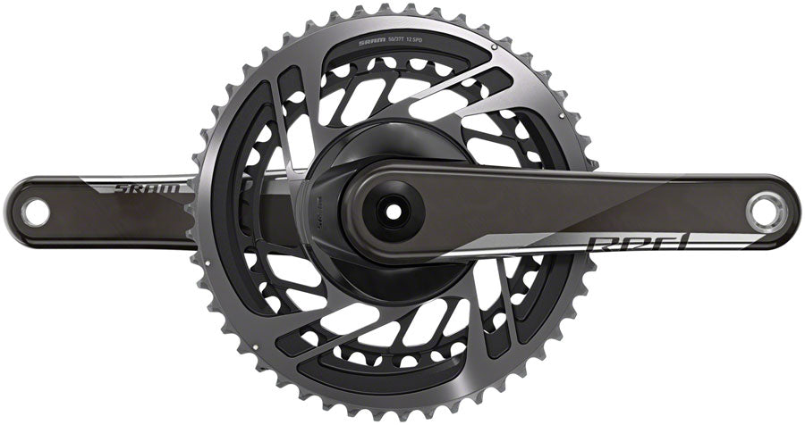 SRAM RED AXS Crankset - 170mm, 12-Speed, 50/37t, Direct Mount, GXP Spindle Interface, Natural Carbon, D1