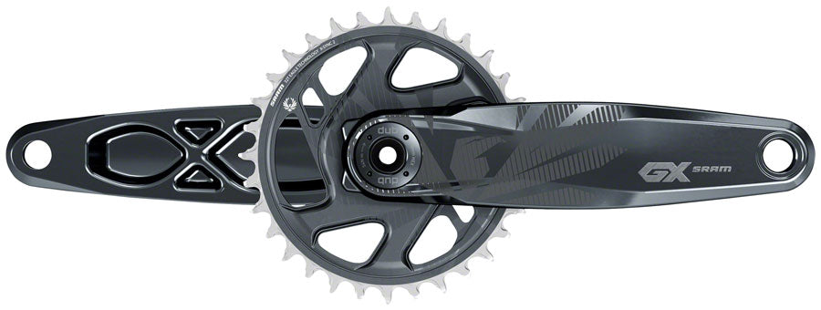 SRAM GX Eagle Boost Crankset - 165mm, 12-Speed, 32t, Direct Mount, DUB Spindle Interface, Lunar