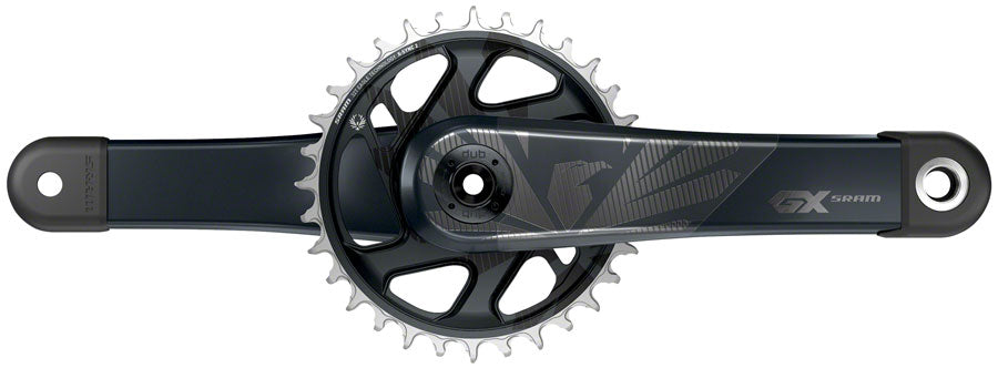 SRAM GX Eagle Carbon Boost Crankset - 175mm, 12-Speed, 32t, Direct Mount, DUB Spindle Interface, Lunar