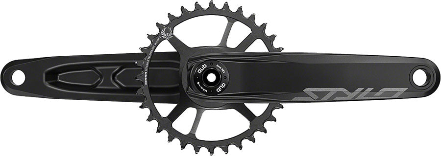TruVativ STYLO 6K Aluminum Eagle Boost Crankset - 170mm, 12-Speed, 32t, Direct Mount, DUB Spindle Interface, Black