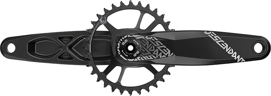 TruVativ Descendant 6K Aluminum Eagle Boost Crankset - 170mm, 12-Speed, 32t, Direct Mount, DUB Spindle Interface, Black