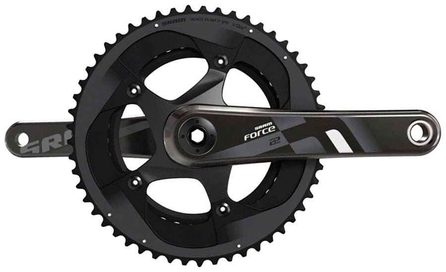 SRAM Force 22 Exogram BB30/PF30 172.5mm 50-34 Teeth Crankset Road Double No BB
