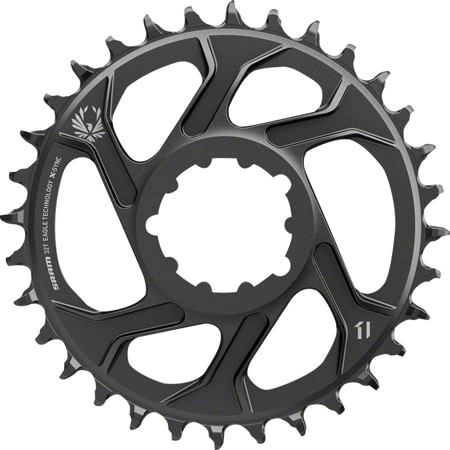 SRAM X-Sync 2 Eagle Direct Mount Chainring 38T 6mm Offset MPN: 11.6218.030.040 UPC: 710845787461 Direct Mount Chainrings X-Sync 2 Eagle Direct Mount Chainring