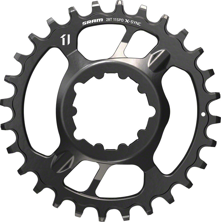 SRAM X-Sync Steel Direct Mount Chainring 28T Boost 3mm Offset MPN: 11.6218.027.010 UPC: 710845805271 Direct Mount Chainrings X-Sync Steel Direct Mount Chainring
