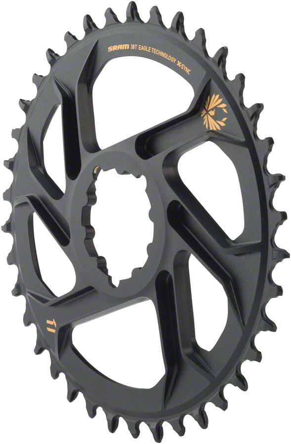 SRAM X-Sync 2 Eagle Direct Mount Chainring 32T 6mm Offset with Gold Logo MPN: 11.6218.030.110 UPC: 710845787539 Direct Mount Chainrings X-Sync 2 Eagle Direct Mount Chainring