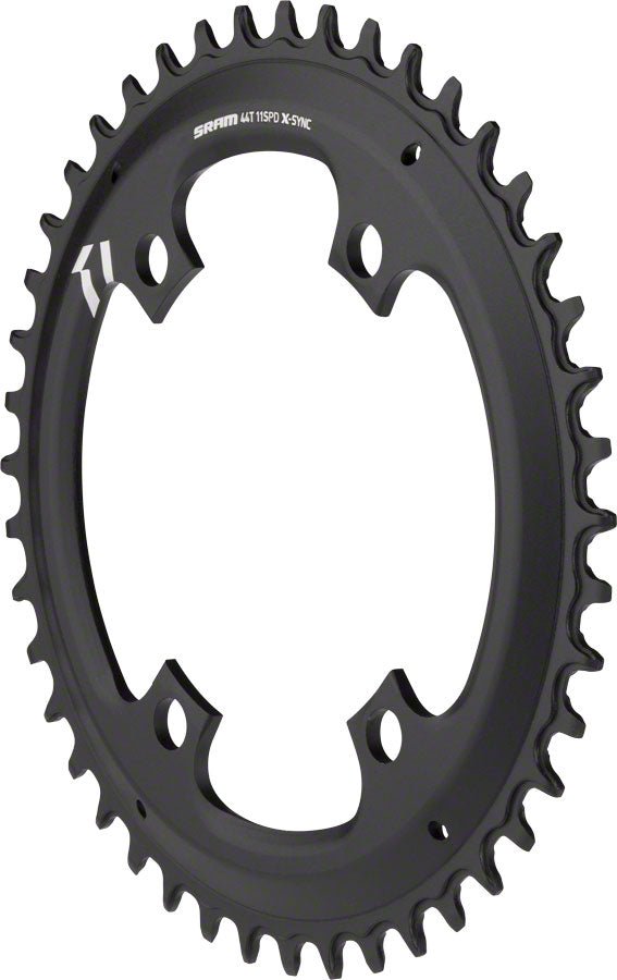 SRAM X-Sync Chainring 44T 110mm Asymmetric BCD, Black