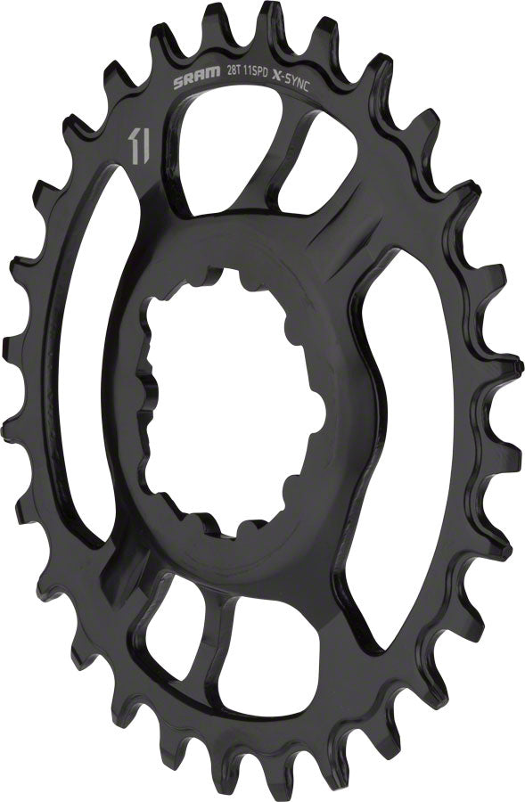 SRAM X-Sync Steel Direct Mount Chainring 28T Boost 3mm Offset MPN: 11.6218.027.010 UPC: 710845805271