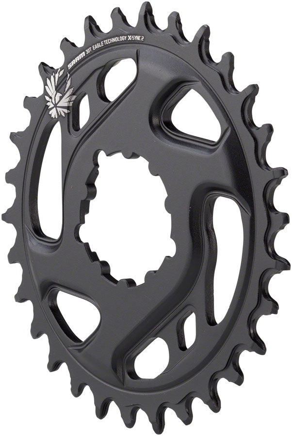 SRAM X-Sync 2 Eagle Cold Forged Direct Mount Chainring 30T Boost 3mm Offset MPN: 11.6218.030.240 UPC: 710845808517 Direct Mount Chainrings X-Sync 2 Eagle Cold Forged Direct Mount Chainring