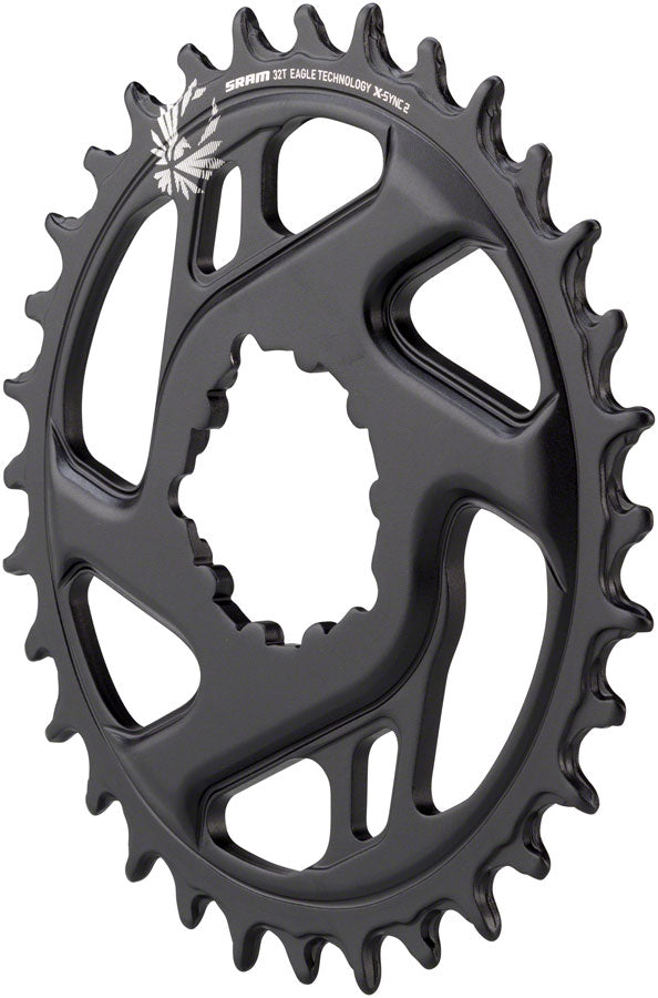 SRAM X-Sync 2 Eagle Cold Forged Direct Mount Chainring 32T Boost 3mm Offset MPN: 11.6218.030.260 UPC: 710845808531 Direct Mount Chainrings X-Sync 2 Eagle Cold Forged Direct Mount Chainring