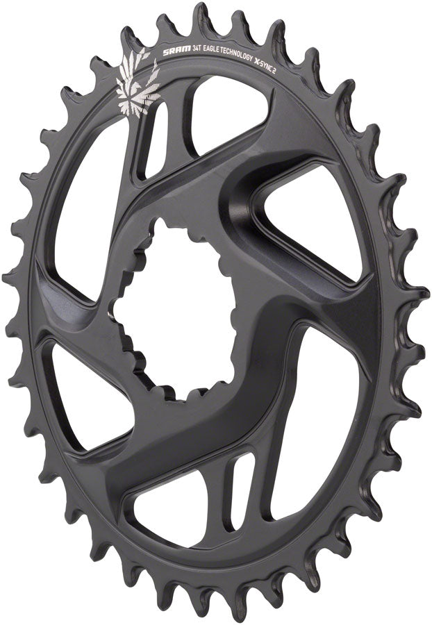 SRAM X-Sync 2 Eagle Cold Forged Direct Mount Chainring 34T 6mm Offset MPN: 11.6218.030.290 UPC: 710845808562 Direct Mount Chainrings X-Sync 2 Eagle Cold Forged Direct Mount Chainring