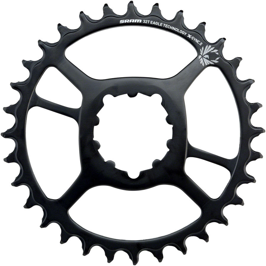 SRAM X-Sync 2 Eagle Steel Direct Mount Chainring 34T 6mm Offset