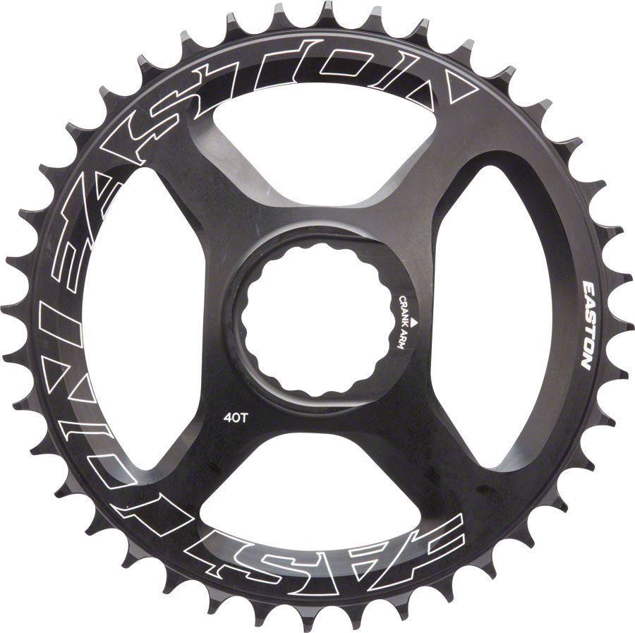 Easton  Direct Mount 40 Tooth Chainring, Black MPN: 8022674 UPC: 821973302607 Direct Mount Chainrings Direct Mount